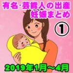 【2019年】①有名・芸能人の出産・妊娠 総まとめ「永久保存版」